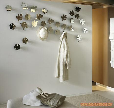 Mirror designs on walls