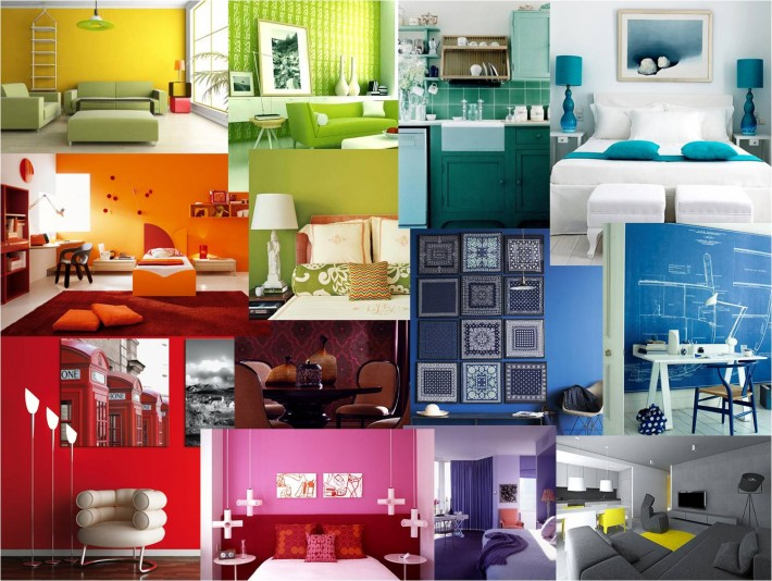 Positive colors for bedrooms